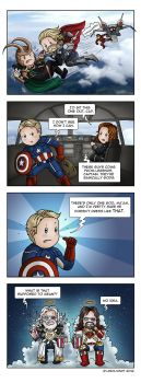 The Avengers: Divine Fashion by Isriana