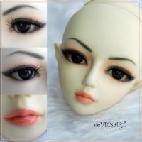 San Face-up by deVIOsART