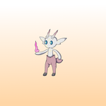Fire Faun Fakemon by Shuckled