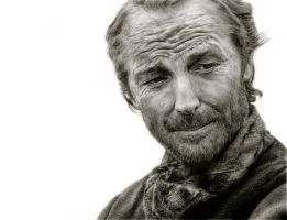 Iain Glen as Ser Jorah by Zorocan