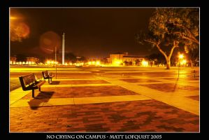 No Crying on Campus by Brindell
