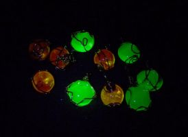 wirewrap expts under UV by wombat1138