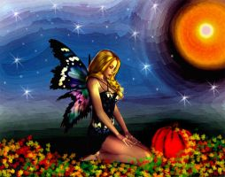 Fall Fairy by PridesCrossing