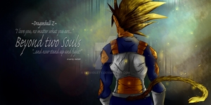 DBZ - Banner - Beyond two Souls -Final- by RedViolett