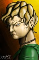 Angry Halfling by TariToons