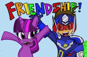 What do Megaman and My Little Pony have in common? by SilverZeo