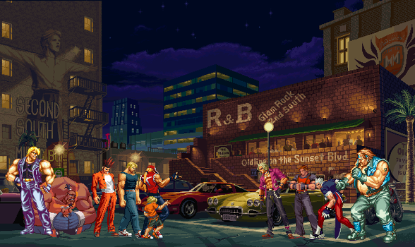 Street fighters by lonerpx