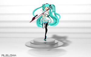 Racing Miku 2012 by Alelokk