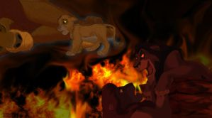 The lion king by l3nbak