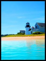 Lighthouse on Hyannis by Xcoloredaffinity
