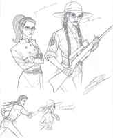 TF2: Lady Sniper is Unamused by RavenScarlett