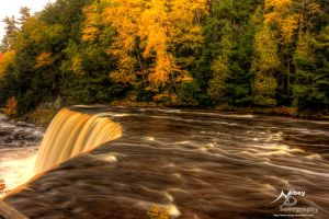 HDR Tahquamenon Falls 2 by Nebey
