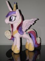 Princess Cadance inspired plush by mmmgaleryjka
