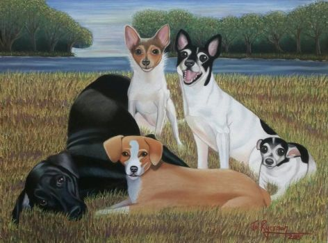 Ryerson family dogs by joirye