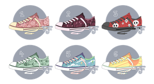 [Open] Auction: Mystery Shoes 1 by ToJee-Adopts