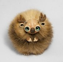 Spirit of Woods Furry Creature by RamalamaCreatures
