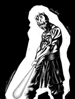 Darth Maul by Chuck-Nothing