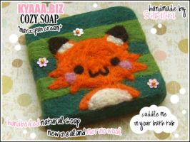 kyaaa.biz Soap - Marzipan Fox by shiricki