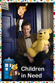 Children in need Doctor Who 2011 by CPD-91