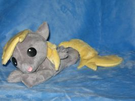 Beanie baby style Derpy Plushie #2 by WhiteHeather