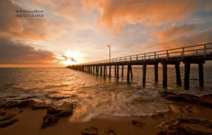 Sunrise at Point Lonsdale by DanielleMiner