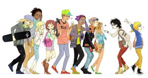 Babes and Bros by e-hima