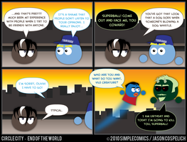 CC413 - End of the World 13 by simpleCOMICS