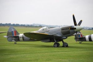 Duxford Spitfire 1 by WS-Clave