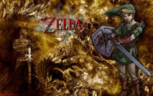 Legend Of Zelda Wallpaper by MarvelousMark