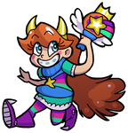 Star Butterfly / Mabel Pines FUSION by GadgetTR