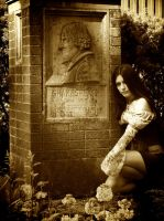 Gothic Garden - Shakespeare by Mahafsoun