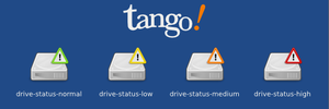 Tango HardDrive Status Icons by naesk