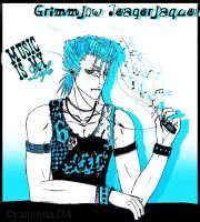 Grimmjow - Music is my life by yaminita
