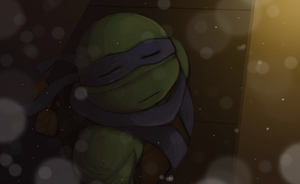 Leonardo snow speedpaint by Kaciel