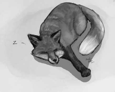 Five More Minutes-With greyscale by TheG00sey