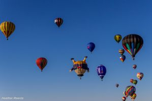 Hot air balloons by hreents