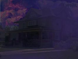 foggy hunted house by 2sweetthe2nd
