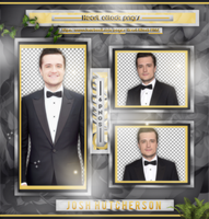 +Josh Hutcherson photopack png by ForeverTribute