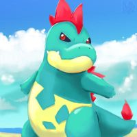 Croconaw by Pand-ASS