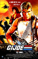 G.I.Joe: Retro 80's Movie Poster by NiteOwl94
