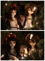 Forest of Lights iii by aisu-isme