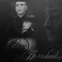 """He's Dead."" Deathly Hallows by JessMindless"