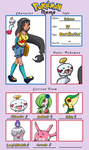 Pokemon Trainer - Selena by Rose-anime