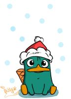 PERRY the SANTYCLAUSE by meow-meow211298