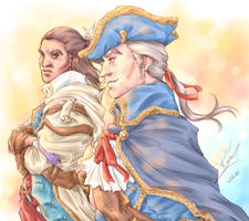 Father and Son by sarumanka