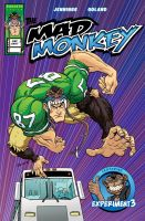 Mad Monkey Cover to One Shot by Forty-Nine