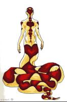 Naga Queen of Hearts by Cypher-Calliste