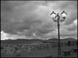 An evening in Alghero by davdiana
