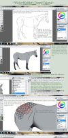 Horse Dapples Tutorial by WickerWolfArt