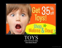 Demotivational: Toys by BSCrap